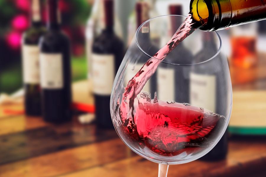 ποτήρι γυάλινο κρασιού